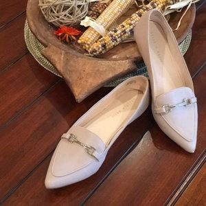 Kelly & Katie- Beige/Taupe Flats